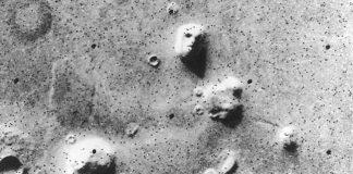 Mars'taki insan yüzü