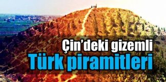 Yasak Türk Piramitleri çin china pyramid