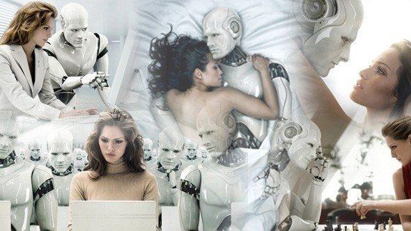 robot kadın seks olan