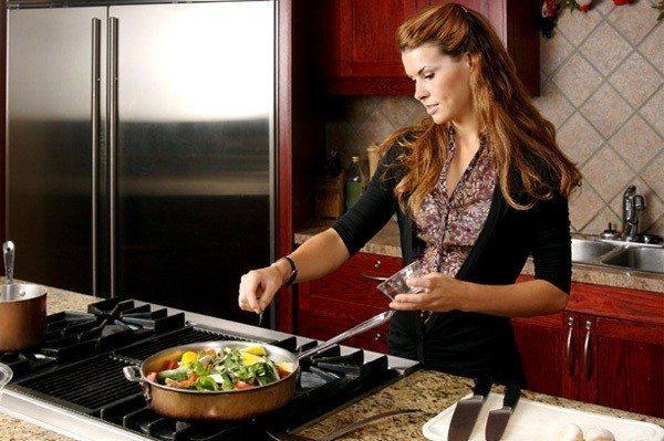 saat yemek kadın ocak
