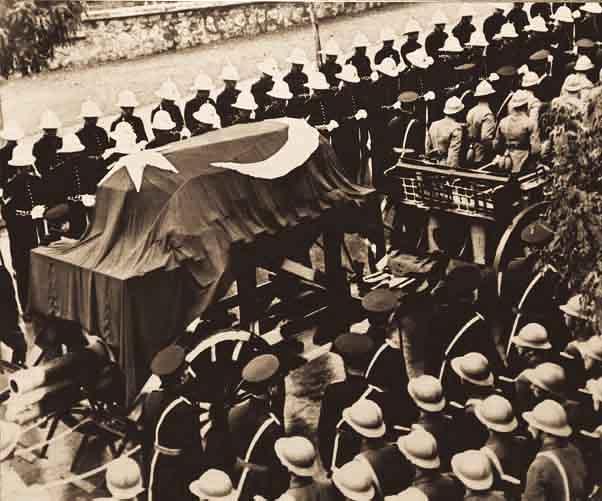 atatürk cenaze töreni 10 kasım 1938