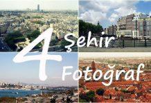 4 Şehir 4 Fotoğraf: Hamburg, Heidelberg, İstanbul, New York