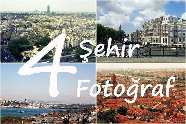 4 Şehir 4 Fotoğraf: Heidelberg, Paris, Tübingen, Viyana