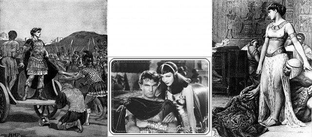 sezar kleopatra