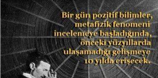 Metafizik fenomeni: İyi ki doğdun Nikola Tesla!