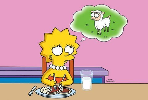 """The Simpsons""-Lisa the Vegetarian (TV Episode)"