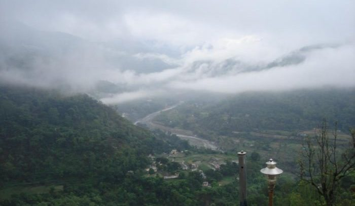 Himalayalar'da bir köy