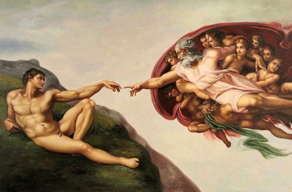 Michelangelo Tanrı rolüne soyunan insanoğlu: Bilimkurgu gelecek