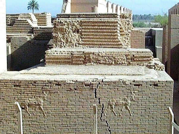 Babil, Iraq - Original Palace Walls