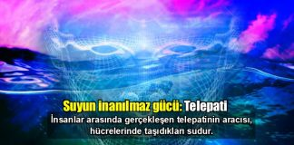 Suyun inanılmaz gücü: Telapati