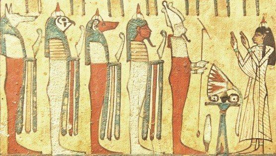 Set'in Osiryan Askerleri Osiris düzen
