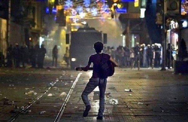 Taksim gezi parkı-barış eylemi