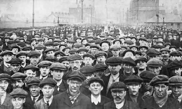 sanayi işçileri