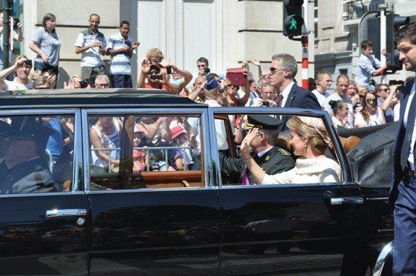 Belçika Kralı olan Prens Philippe