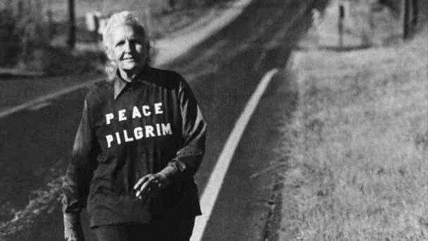 Peace Pilgrim şiddet