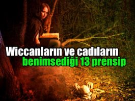 Wiccanların ve cadıların benimsediği 13 temel prensip