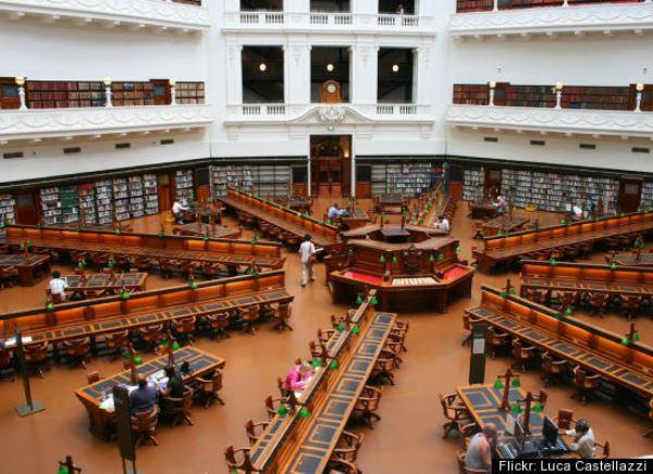 ABD de kütüphane