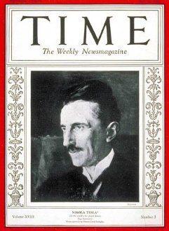 tesla imkansız time dergisi kapağı