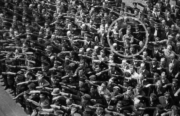 August Landmesser-Almanya-1936