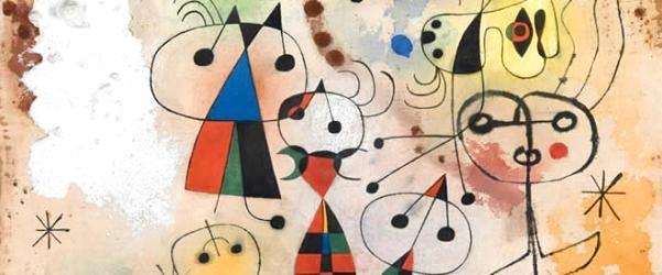 Sürrealist akımın öncü sanatçılarından miro