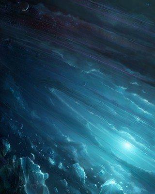 buz uzay