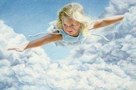 uçan kız