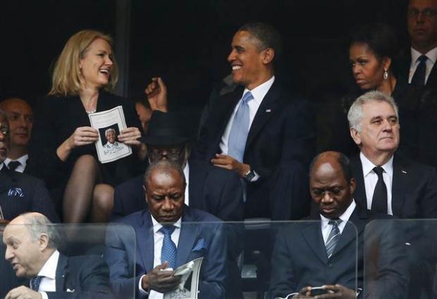 Michelle Obama'nın kadınlık dürtülerinin diplomasi tanımadığı an