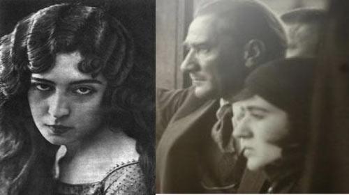 Fikriye, Atatürk'le birlikte
