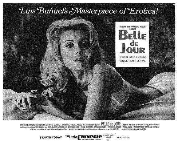Belle de Jour: Fanteziler dünyasını keşfeden kadın