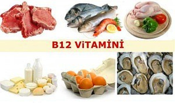 B12 vitamini kaynakları