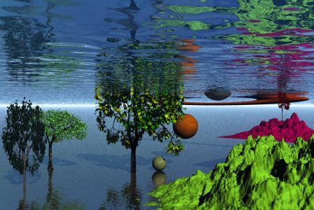 ağaç ve su kok