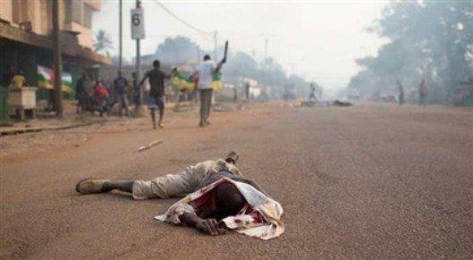 müslüman afrikalı halk vahşet görüntüleri