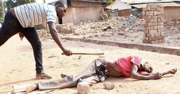 orta afrikadaki katliam