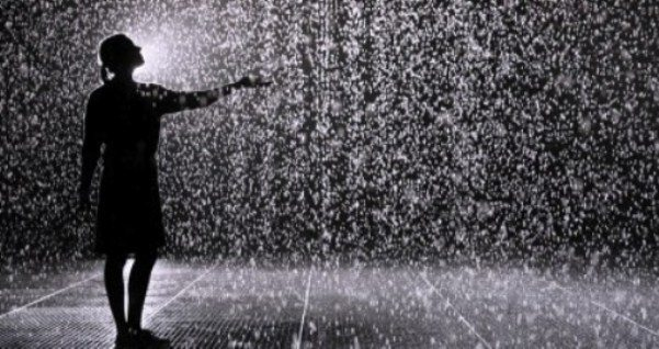 gözyaşı yağmuru