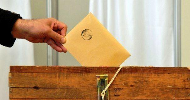 genel seçim yerel seçim oy seçmen ysk