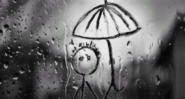 gözyaşı yağmurları cam, resim, cin ali