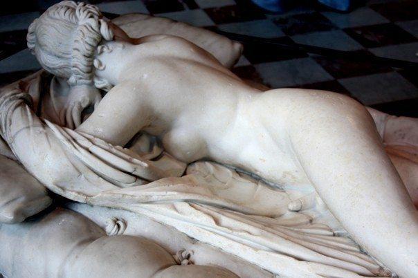 Hermafrodit, Louvre Müzesi'nden Francija
