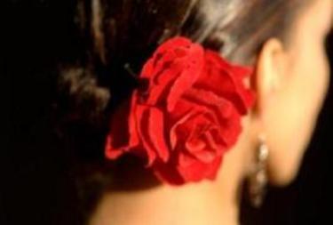 kırmızı gül güzel kadın hıdrellez
