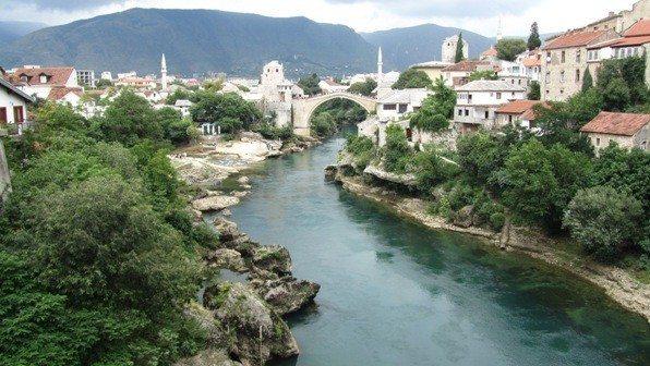 Mostar Köprüsü saraybosna
