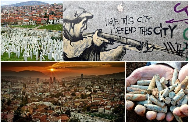 Saraybosna: Acının ve Hayatın Binbir Rengi