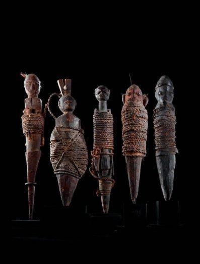 Büyü totemleri Primitif (İlkel) Sanat