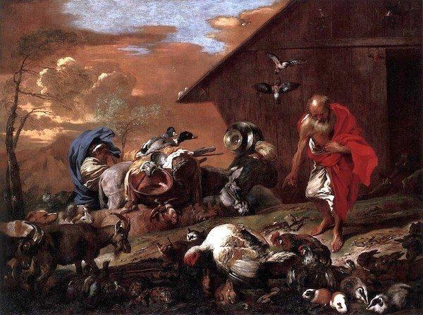 Giovanni_Benedetto_Castiglione_-_In_Front_of_Noah's_Ark_-_WGA04548