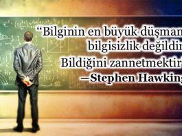 Bilginin sınırları: Gerçek bilgi mi palavra mı? stephen hawking
