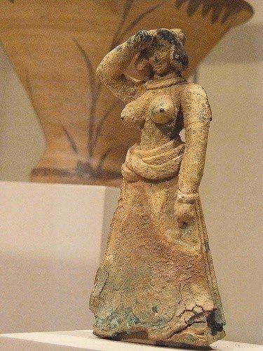 geç minos kadın fügürü