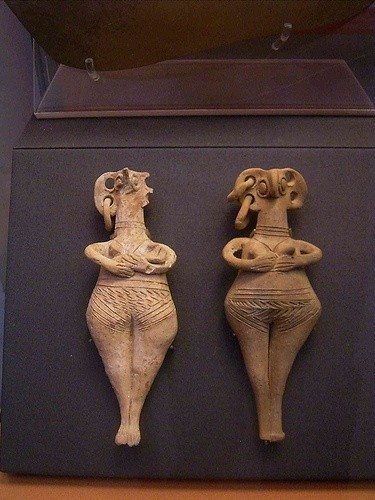 geç minos tanrıça heykeli