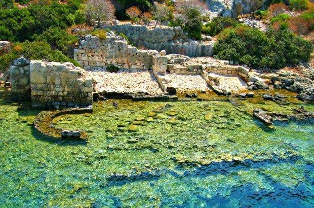 kekova kaş antik kent