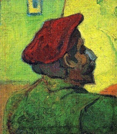 Vincent van Gogh-kırmızı bereli adam-indigodergisi
