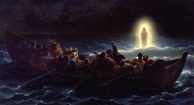 inanç isa petrus suda yürümek mucizeler