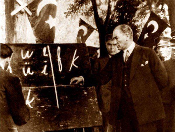 Atatürk-latin alfebesi-indigodergisi