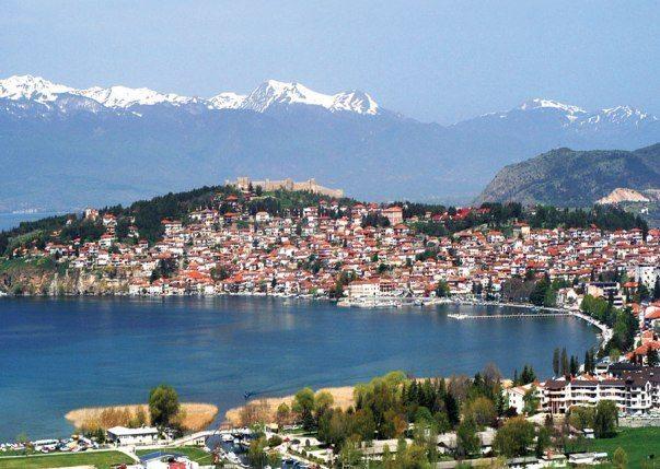 Ohrid makedonya yer